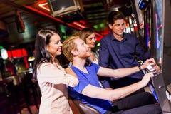 Les gens dans le casino Photo stock