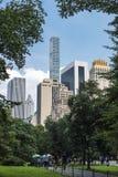 Les gens dans le Central Park, New York City, Etats-Unis image libre de droits
