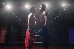Les gens dans le ring Photo libre de droits