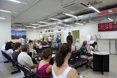 Les gens dans le service de management de visa Photos libres de droits