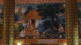 Les gens dans le temple thaïlandais images libres de droits