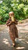 Les gens dans OMO, ETHIOPIE Photographie stock libre de droits