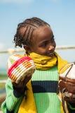 Les gens dans OMO, ETHIOPIE Photos stock