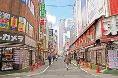 Les gens dans Shinjuku Images libres de droits