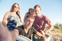Les gens des vacances Images libres de droits