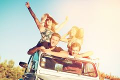Les gens des vacances Photo stock