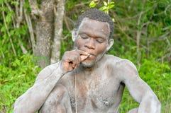 Les gens du monde - débroussailleur africain images libres de droits