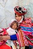 Les gens du Pérou images libres de droits