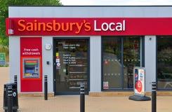 Les gens du pays de Sainsbury images stock