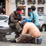 Les gens en Equateur Images libres de droits