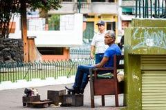 Les gens en Equateur Photographie stock