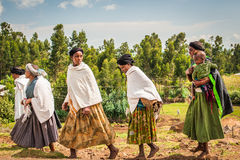 Les gens en Ethiopie Image libre de droits