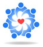 Les gens et l'amour illustration de vecteur