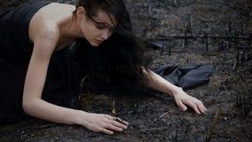 Les gens et la nature de mort Concept d'écologie clips vidéos