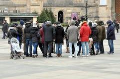 Les gens et la ville photo libre de droits