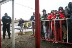 Les gens faisant la queue pour émettre le vote photo libre de droits