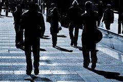 Les gens à la rue Photographie stock libre de droits