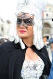 Les gens posant dans le costume de luxe à Venise, Italie 2015 Images stock