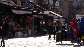 Les gens Sarajevo 4K clips vidéos
