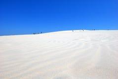 les gens sur le désert Photo libre de droits