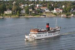 Les gens sur le ferry Photo stock