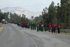 Les gens sur les rues de l'Ethiopie Image stock