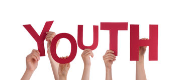 Les gens tenant la jeunesse photos libres de droits