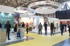 Les gens visitant Tuttofood 2019 ? Milan, Italie image libre de droits