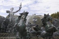Les Girondins Brunnen Lizenzfreie Stockbilder