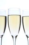 Les glaces de Champagne se ferment vers le haut Photos libres de droits