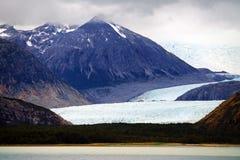 Les glaciers de Tierra del Fuego Images libres de droits