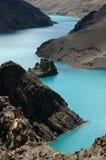 Les glaciers et le lac Image libre de droits