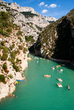 Les Gorges du Verdon Stock Photo