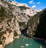 Les Gorges du Verdon Royalty Free Stock Photo