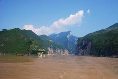 Les gorges du Yang Tsé Kiang Photos libres de droits