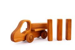les gosses jouent en bois images stock