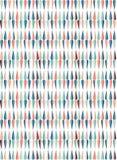 Les gouttes de pluie colorées dans des tons espiègles lumineux dirigent la tuile sans couture illustration de vecteur