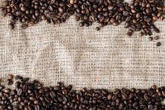 Les graines de café Photographie stock libre de droits