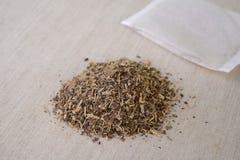 Les graines de la casse Tora--une médecine de chinois traditionnel Photos libres de droits
