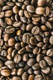Les grains de café photos stock