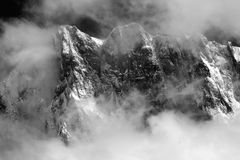 Les Grandes Jorasses Royalty Free Stock Image