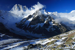 Les Grandes Jorasses Royalty Free Stock Images