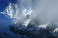 Les Grandes Jorasses Stock Photos