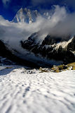 Les Grandes Jorasses Royalty Free Stock Photo