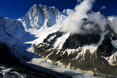 Les Grandes Jorasses Royalty Free Stock Photography