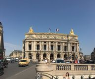 Les Grands boulevards Royalty Free Stock Photography