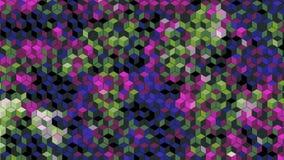 Les graphiques abstraits de blick de bloc ont produit du papier peint de fond Images stock