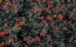 Les graphiques abstraits de blick de bloc ont produit du papier peint de fond Photographie stock libre de droits