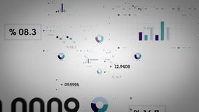 Les graphiques et les données refroidissent Lite illustration libre de droits