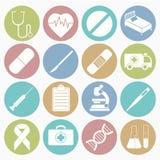Les graphismes médicaux ont placé Photo libre de droits